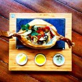鮮魚の紙包み焼~シチリア風~